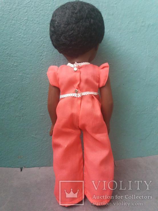 Кукла негритянка на резинках, фото №4