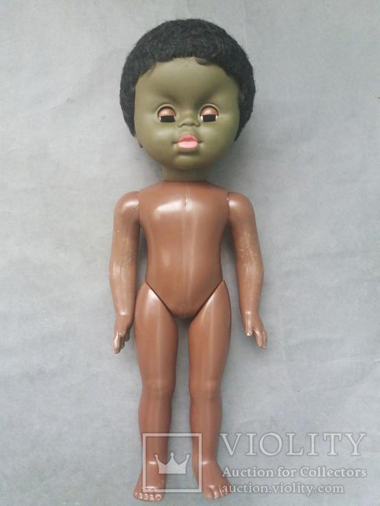Кукла негритянка на резинках, фото №5