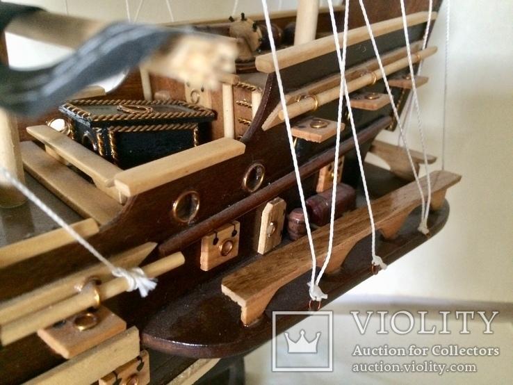 Парусник 3х мачтовый (пиратский корабль) Черная жемчужина, фото №9