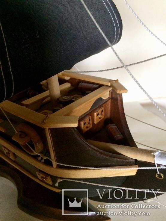 Парусник 3х мачтовый (пиратский корабль) Черная жемчужина, фото №10