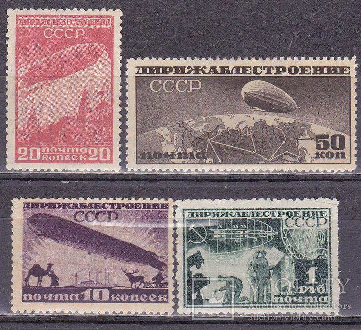 СССР 1931 Дирижаблестроение MH