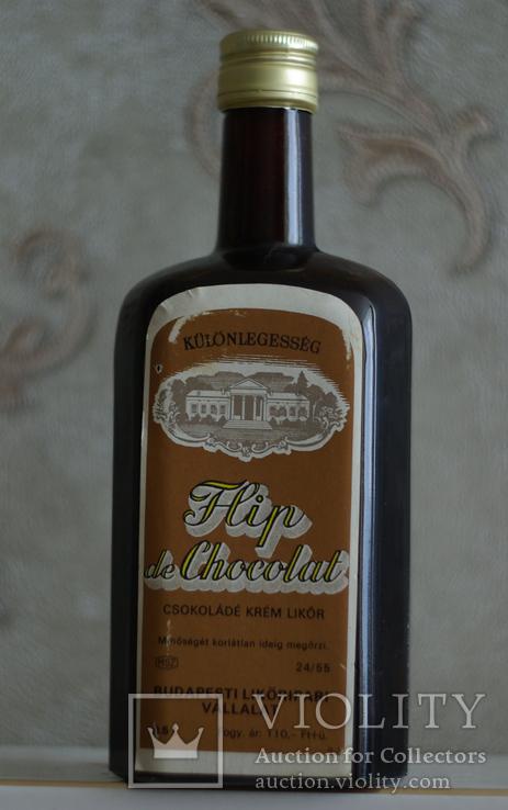 Ликер Flip de chocolat Венгрия 1984 год, фото №2