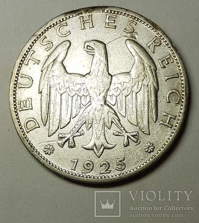 1 марка 1925, фото №3