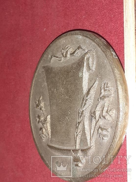 Памятная медаль Николаев НГЗ, фото №3