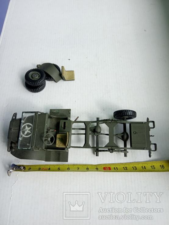 Italeri Dodge WC 62 1,5t  1/35(кузов), фото №7