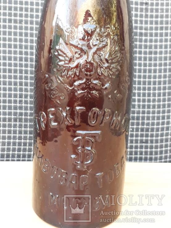 Пивная бутылка трехгорное Москва 1882-1896 год, фото №8