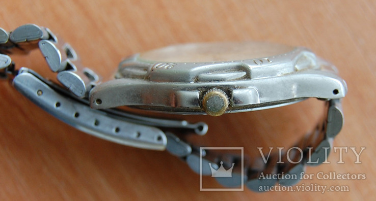 Часы Quartz--влагозащитные с браслетом, фото №5