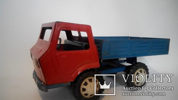 Грузовой автомобиль 36см жесть игрушка СССР, фото №2
