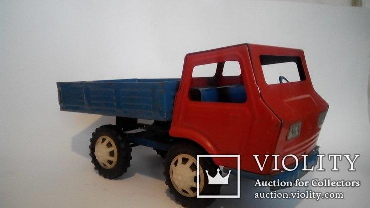 Грузовой автомобиль 36см жесть игрушка СССР, фото №3