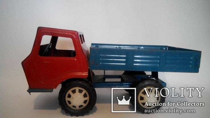 Грузовой автомобиль 36см жесть игрушка СССР, фото №4