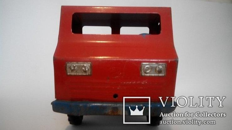 Грузовой автомобиль 36см жесть игрушка СССР, фото №8