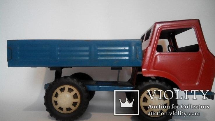 Грузовой автомобиль 36см жесть игрушка СССР, фото №9