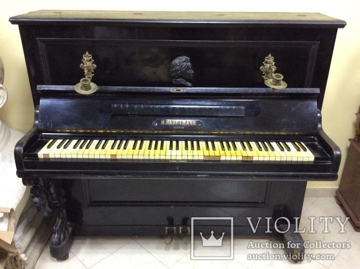 Пианино Немецкое слоновая Кость, фото №3