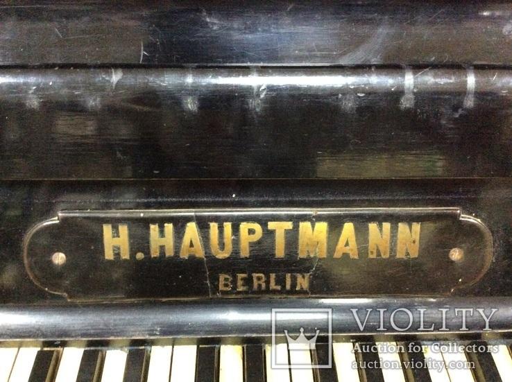 Пианино Немецкое слоновая Кость, фото №5