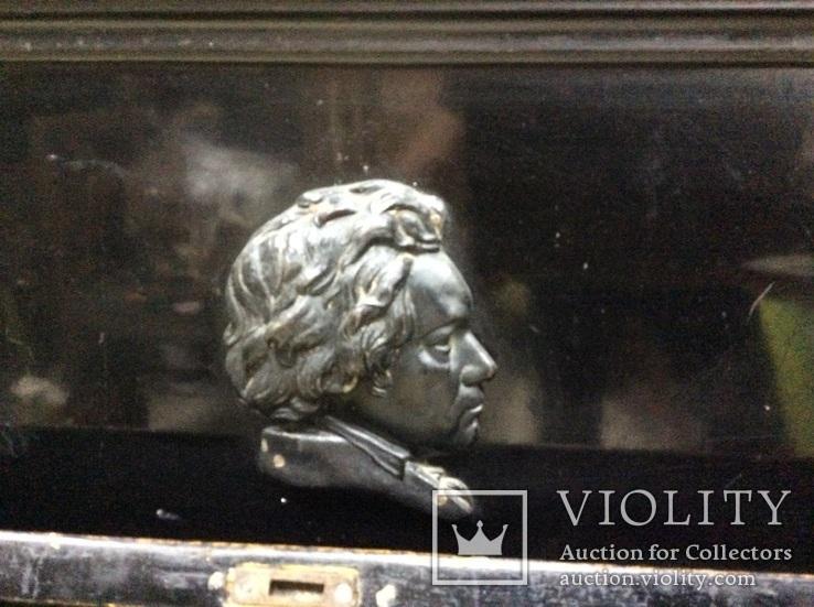 Пианино Немецкое слоновая Кость, фото №8