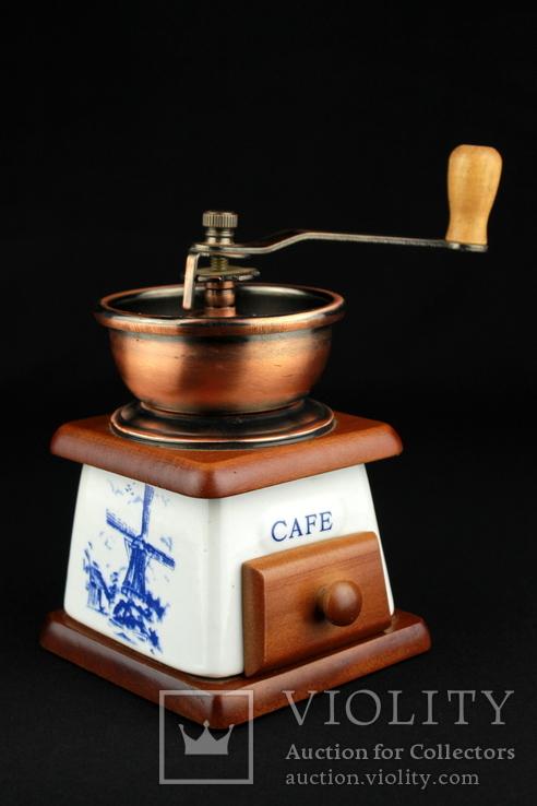 Ручная кофемолка. Мельница. Голландия (0393), фото №2