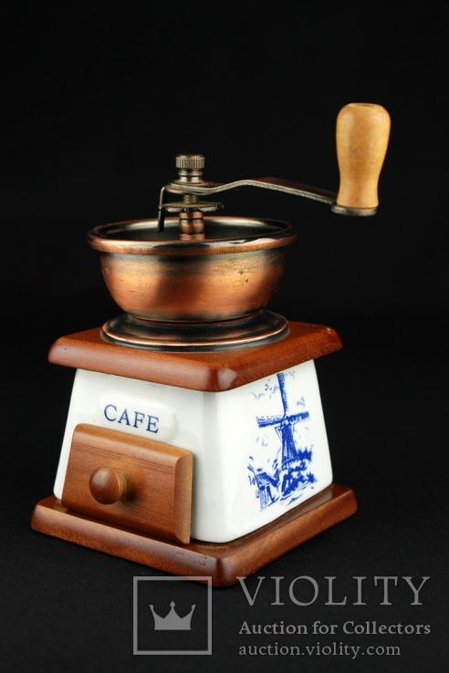 Ручная кофемолка. Мельница. Голландия (0393), фото №3