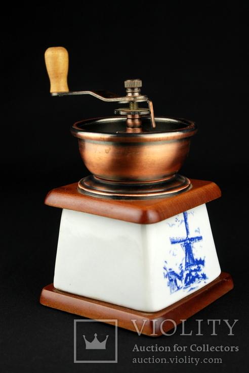 Ручная кофемолка. Мельница. Голландия (0393), фото №5