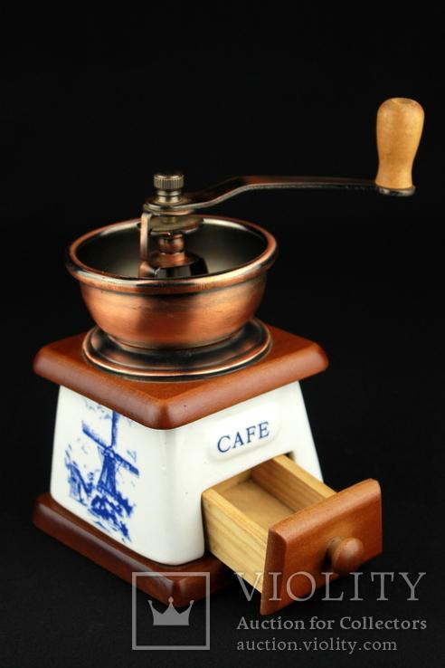 Ручная кофемолка. Мельница. Голландия (0393), фото №8