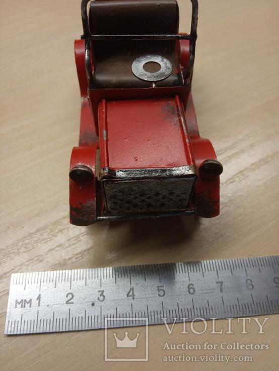 Металлическая машинка, фото №3