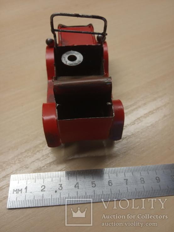 Металлическая машинка, фото №6