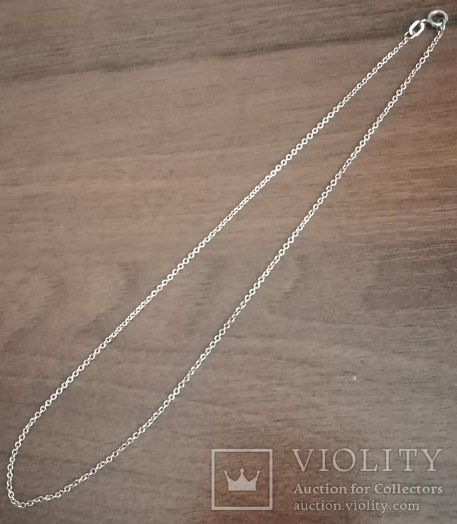 Цепочка на ребёнка или браслет, серебро