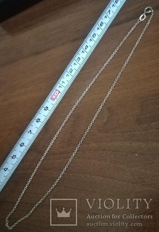 Цепочка на ребёнка или браслет, серебро, фото №4