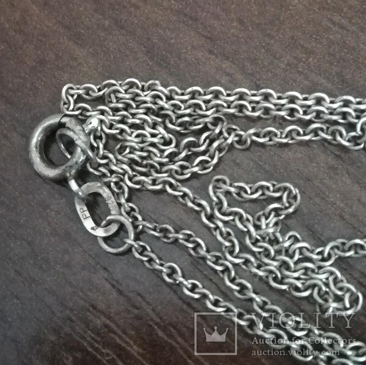 Цепочка на ребёнка или браслет, серебро, фото №6