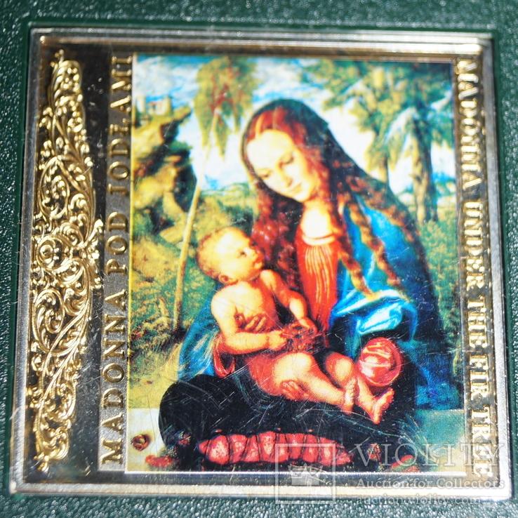 Монета «Мадонна под пихтой»Тираж 2000., фото №3