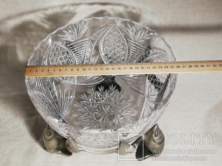 Пивной бокал - кружка с раком, и ваза хрусталь для раков, фото №13