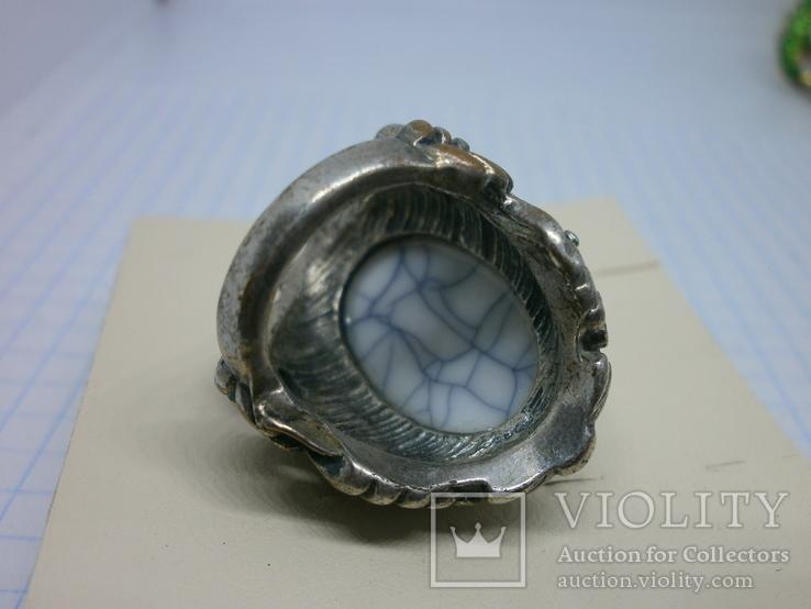 Кольцо с крупной вставкой., фото №7