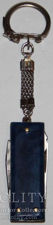 Брелок раскладной ножик СССР, фото №3