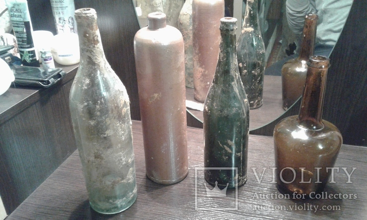 Стеклянные бутылки, фото №4