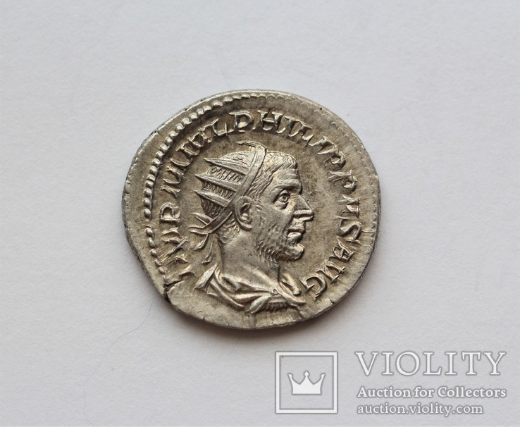 Филип I Араб антониниан RIC 53, фото №3