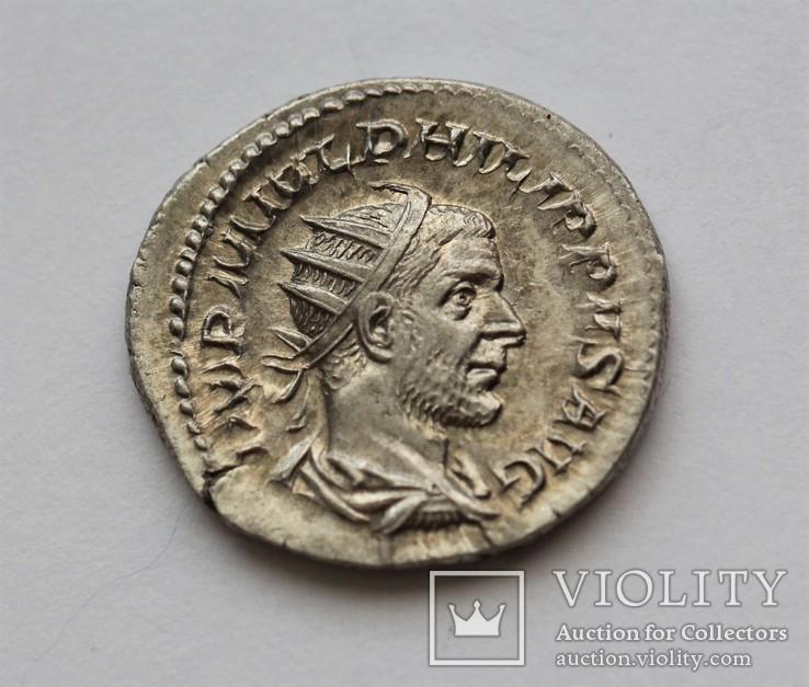 Филип I Араб антониниан RIC 53, фото №4
