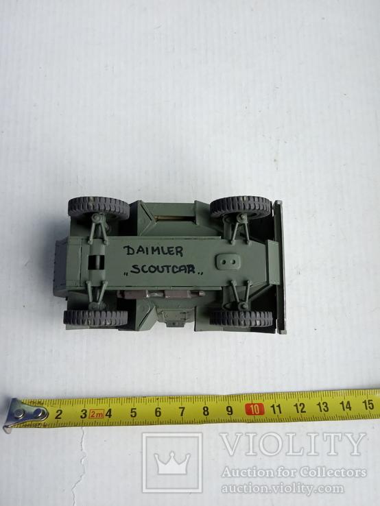 Tamiya-Italeri Daimler Scoutcar 1/35, фото №7