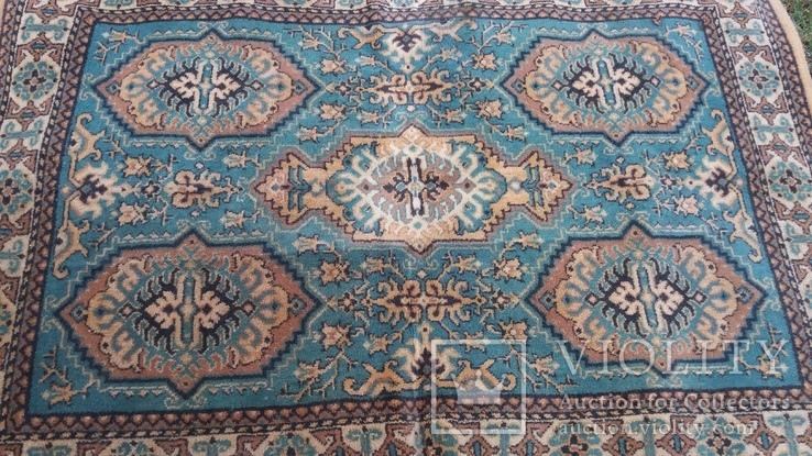 Ковёр шерстяной СССР 137*200 см, фото №3