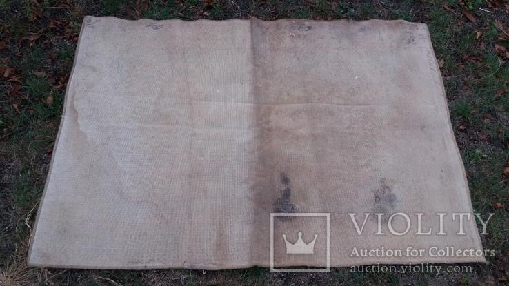 Ковёр шерстяной СССР 137*200 см, фото №5