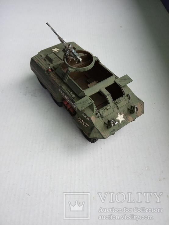 M8Greyhound Armoured Car  1/40, фото №2