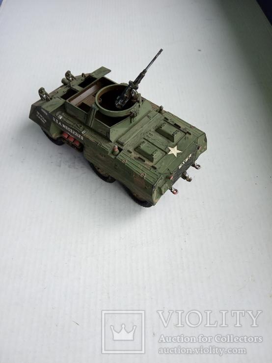 M8Greyhound Armoured Car  1/40, фото №3