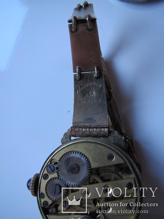 Женские часы, AM.Charnier, глубокая позолота, фото №5