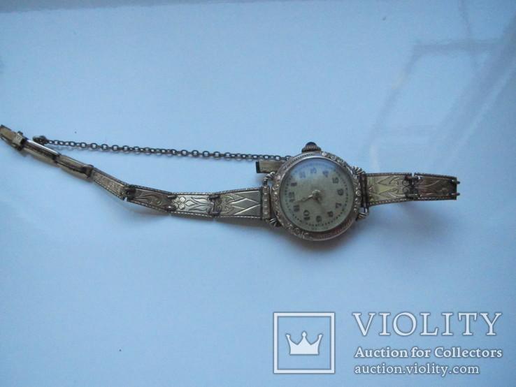 Женские часы, AM.Charnier, глубокая позолота, фото №7