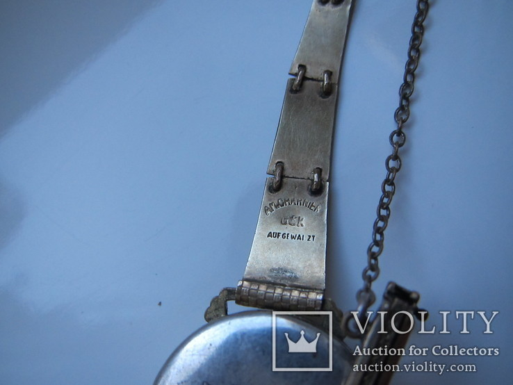 Женские часы, AM.Charnier, глубокая позолота, фото №10
