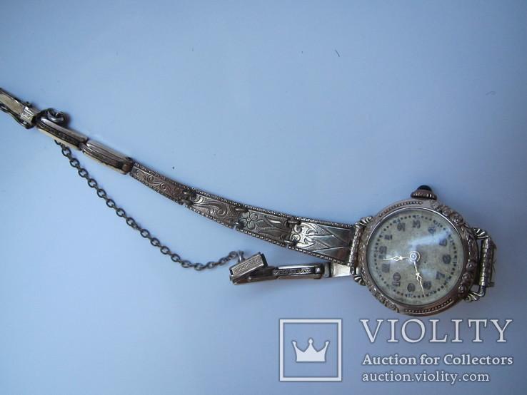Женские часы, AM.Charnier, глубокая позолота, фото №13