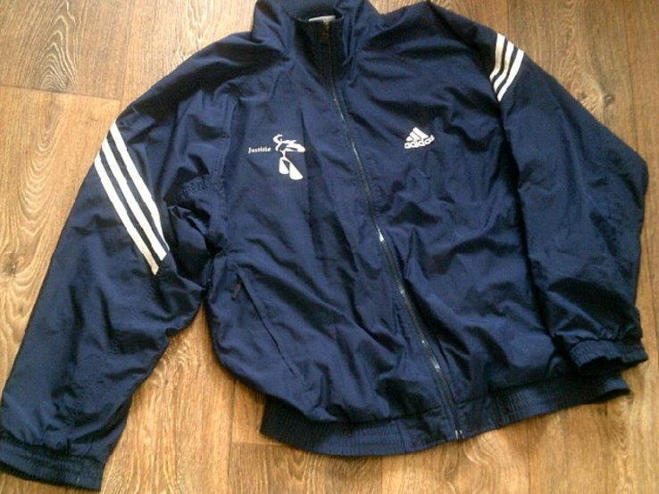 Adidas - фирменная мастерка ветровка разм.50-52, фото №3