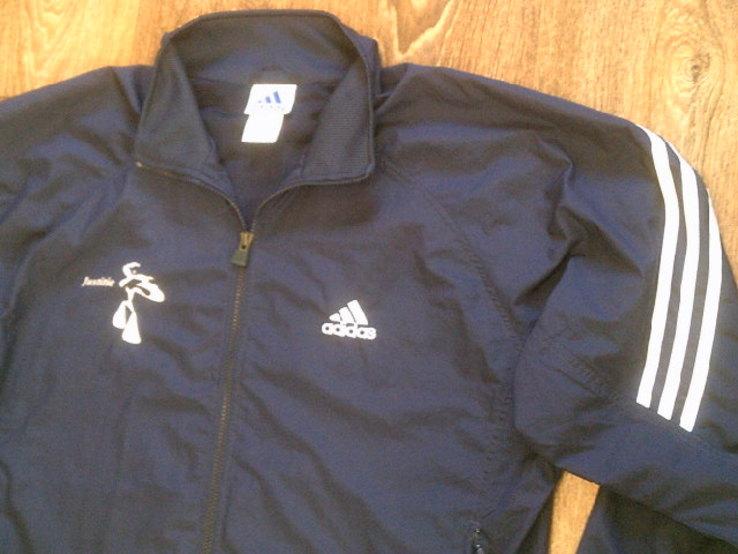 Adidas - фирменная мастерка ветровка разм.50-52, фото №8