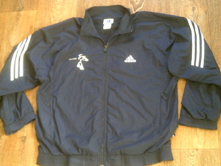 Adidas - фирменная мастерка ветровка разм.50-52, фото №9