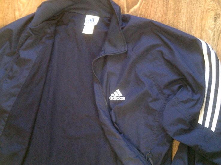 Adidas - фирменная мастерка ветровка разм.50-52, фото №11