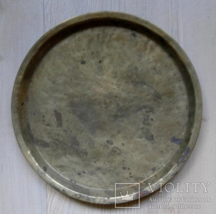 Поднос для самовара. Диаметр - 35.5см, фото №2