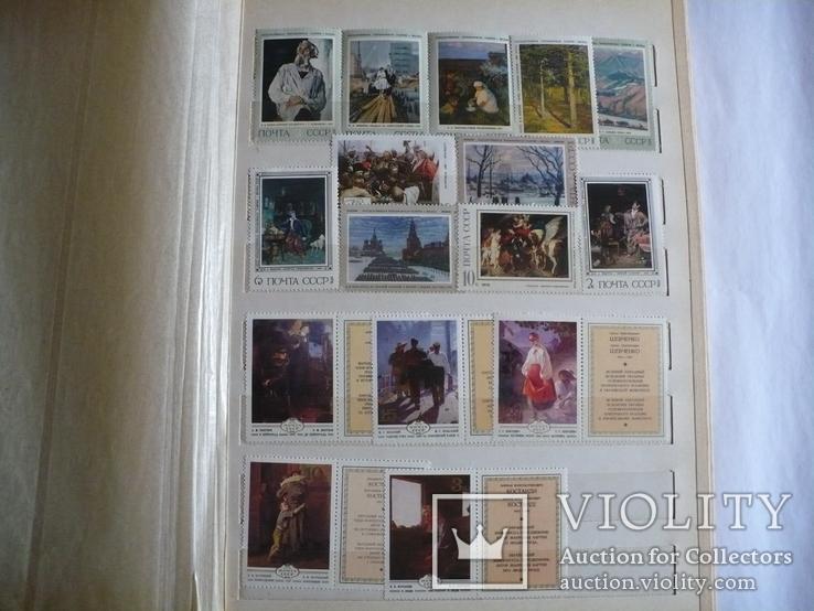 Альбом с марками искусство стран мира MNH(**), фото №4